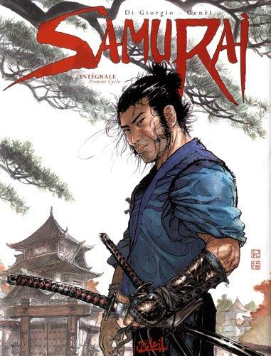 Samurai - Intégrale 1er cycle (T.01 à T.04)  Genet+Di Giorgo+Rieu, grand format