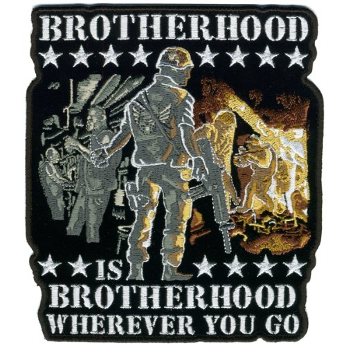 Hot Leathers Brotherhood Wherever You Go Patch (1