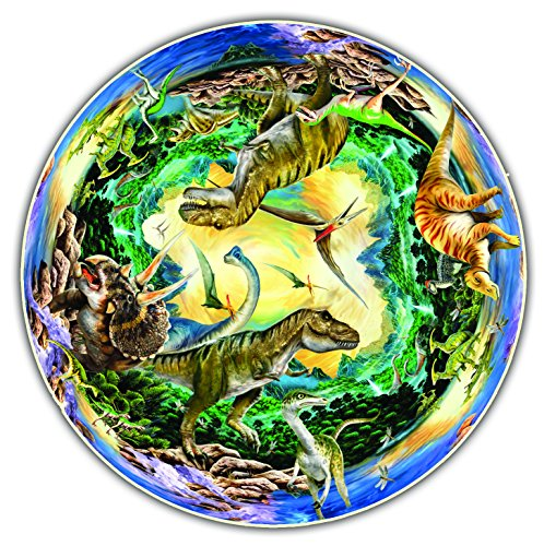 Round Table Puzzle - Prehistoric World (500 Piece)