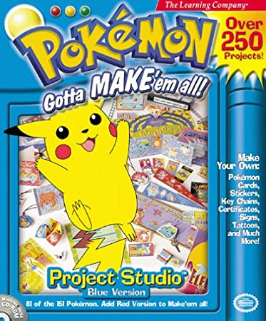 Pokemon Projects Studio:  Blue Version