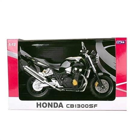 Honda CB1300 SF modele de moto en alliage jouets Vehicule Miniature Echelle 1/12 (noir)