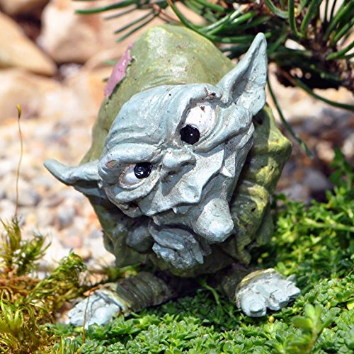 Miniature Fairy Garden Ollie the Troll