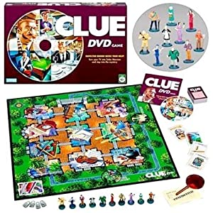 CLUE DVD Game!