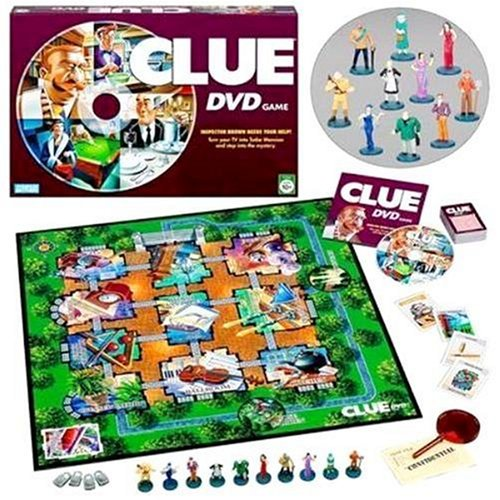 Clue Game Figures