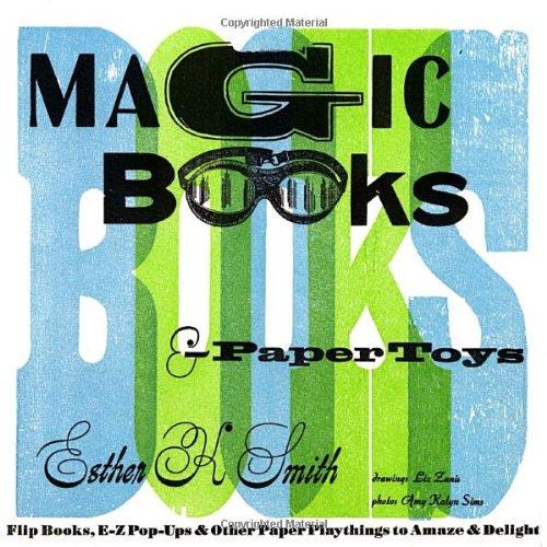 Magic Books & Paper Toys /Anglais