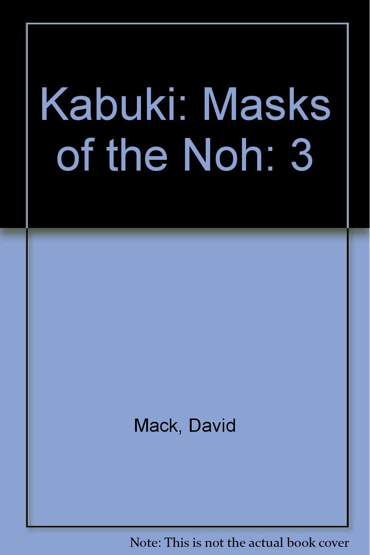 Buy Kabuki: Masks Of The Noh: 3 Book Online At Low Prices In India  Kabuki:  Masks Of The Noh: 3 Reviews & Ratings  Amazon