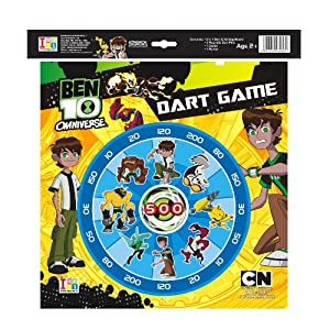 I-Toys Dart Game and Writing Board Ben 10 Omniiverse