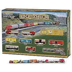 Bachmann 24008 Explorer Ready - To - Run N Scale Train Set