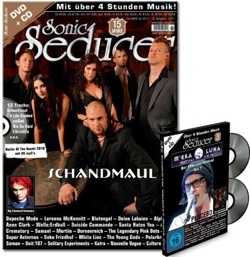 M'Era Luna DVD mit Sonic Seducer 12-10/01-11 + CD-Beilage; Bands: Placebo, Skinny Puppy, Nitzer Ebb, In Extremo, Combichrist u. v m.