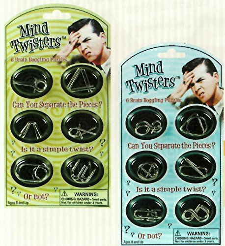 Mind Twister Collection (12 Different Brain Teaser Games)