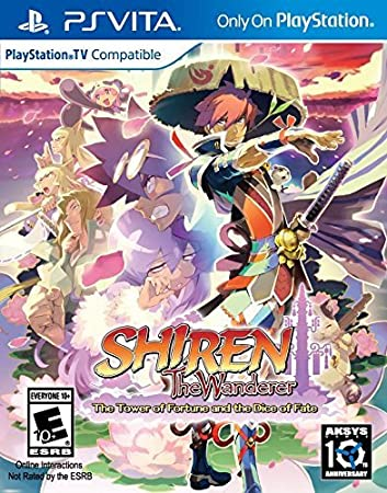 Shiren The Wanderer: The Tower of Fortune and the Dice of Fate - PlayStation Vita