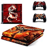 TCOS TECH PS4 Vinyl Skin Sticker Cover for PlayStation 4 Console and Controller