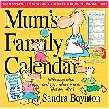 Mum's Family Calendar 2016
