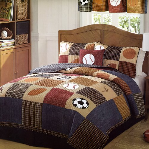 Kids Sports Bedding For Boys front-45628