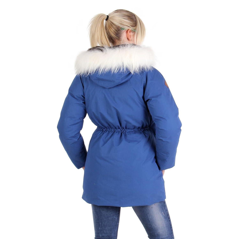 MUSEUM Damen Winter Daunenjacke Blau MD19485 kaufen