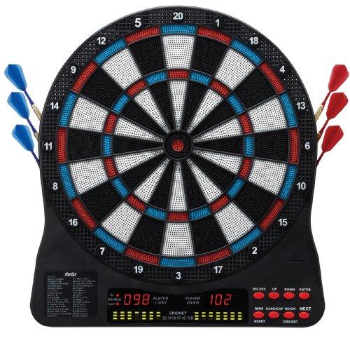 Fat Cat Capella Electronic Dartboard, 13.5-Inch