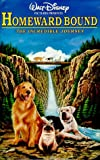Homeward Bound - The Incredible Journey (Walt Disney Pictures Presents) [VHS]