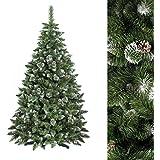 Arbre de Noel Premium - Sapin de noël artificiel - 180cm - Blanc naturel