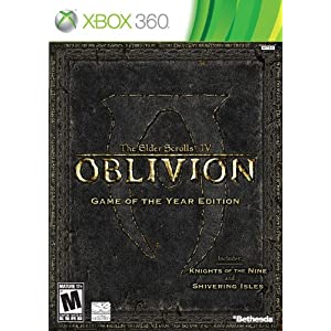 Oblivion Game of the Year Edition Video Game for Xbox 360