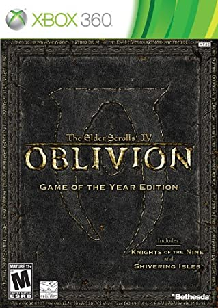 Oblivion Game of the Year Edition (Platinum Hits version )
