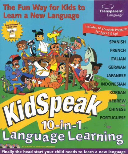 KidSpeak 10-in-1 Language Learning