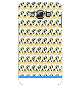 PrintDhaba Cartoon Pattern D-1557 Back Case Cover for SAMSUNG GALAXY A7 (Multi-Coloured)