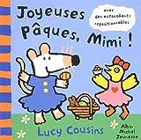 echange, troc Lucy Cousins - Joyeuses Pâques Mimi ! : Avec des autocollants repositionnables