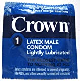Crown Skinless Skin Condoms - The Thinnest Latex Condoms (12-144 pack) (144 pieces)