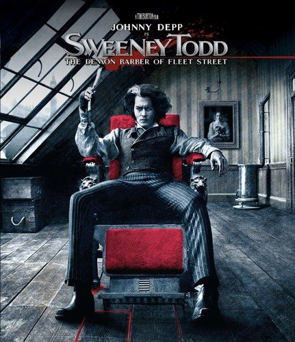 Blu-ray : Sweeney Todd: The Demon Barber of Fleet Street (Widescreen, Dolby, AC-3, Dubbed, )