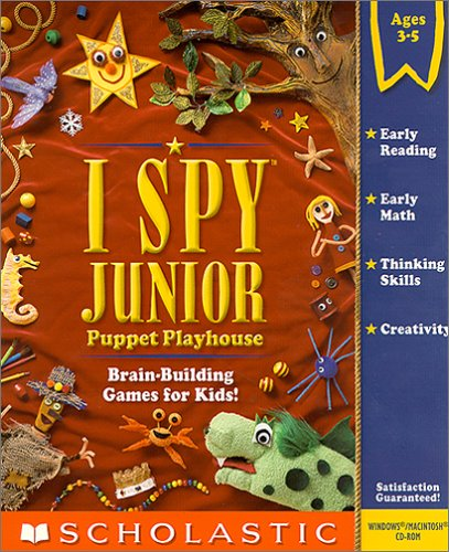 I Spy Junior Puppet Playhouse (Jewel Case)