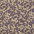V&A Fabric - Tree Buds (Tan) - 1 Metre