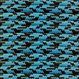 Paracord Planet Nylon 550lb Type III 7 Strand Paracord Made in the U.S.A. -Neon Turquoise & Black-