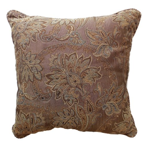 Marcella Square Pillow by Croscill