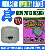 Ultrasonic Jewellery Cleaner. Battrey operated SONIC uses water. (THIS OPTION HAS SOLD OUT)