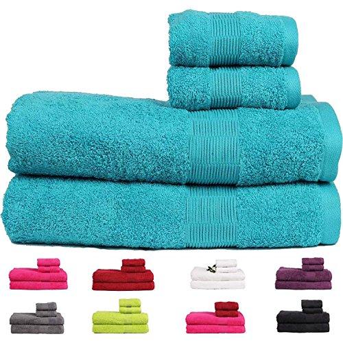 casa-basics-475gsm-premium-quick-dry-egyptian-cotton-bath-hand-towels-set-4-pieces-set-light-blue