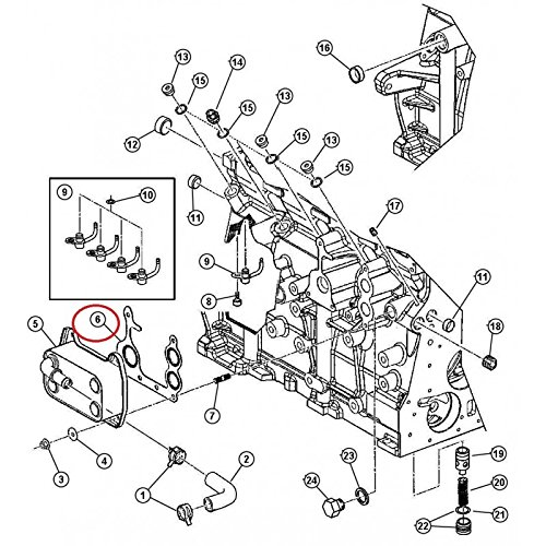 jeep-radiator-coolant-engine-oil-seal-set
