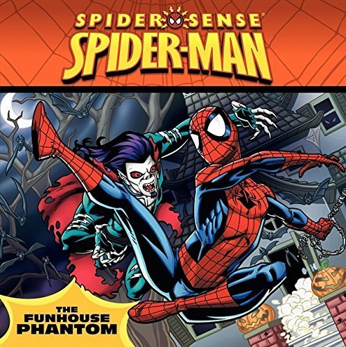 Spider-Man: Funhouse Phantom (Spider Sense Spider-Man) by Ball, Andy (2010) Paperback