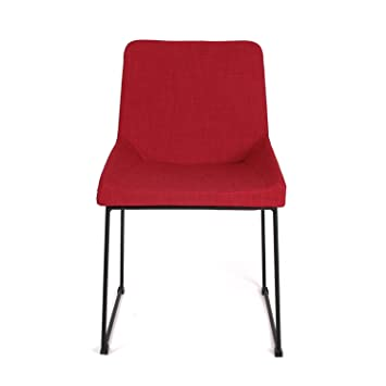 Moderner esszimmerstuhl lyric rot ma e 80x56x47 cm aus for Moderner esszimmerstuhl