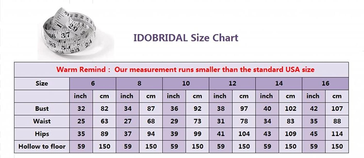 IDOBRIDAL Tulle Beaded Bridesmaid Evening Party Prom Ball Gown Dress20 at Amazon Women's Clothing store