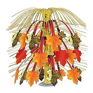 Autumn Leaves Cascade Centerpiece