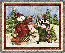 Magic Snowmen Throw - 54 x 70 BlanketThrow