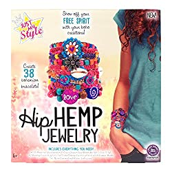 Just My Style Hip Hemp Jewelry Art and Craft,  Multi Color