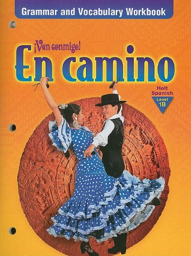 En Camino: Grammar and Vocabulary Workbook