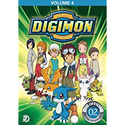 Digimon Adventure: Volume 4 DVD 3pk.