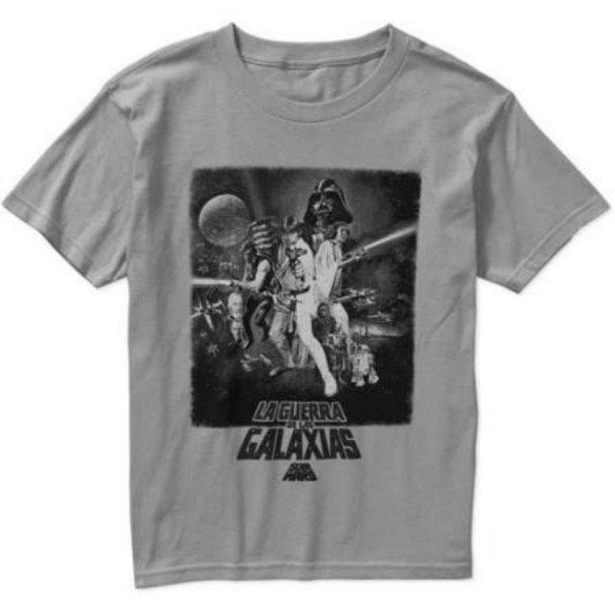 Star Wars Vintage Spanish Movie Poster T-Shirt For Boys 0