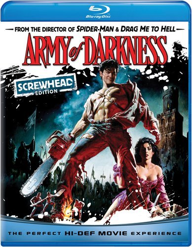 Cover art for  Army of Darkness (Screwhead Edition) [Blu-ray]