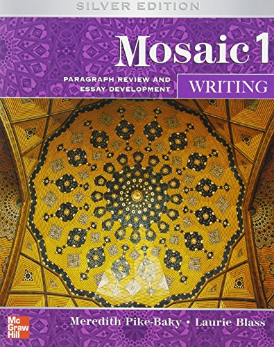 Mosaic Level 1 Writing Student Book