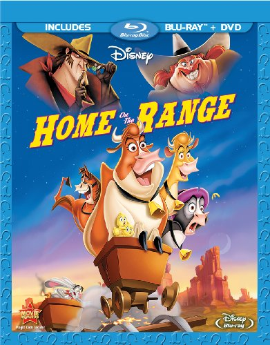 Cover art for  Home on the Range [Blu-ray]