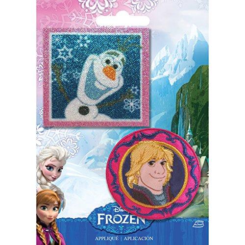 Simplicity 1931103001 Disney Frozen Olaf and Kristoff Applique Set - 1