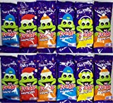12 x Bars Of Cadbury Dairy Milk Freddo Chocolate Bars With Popping Candy 18g